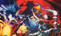 Playmat - Street Fighter vs. Dark Stalkers