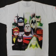 Justice League T-Shirt - White (L)