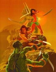 John Carter and Dejah Thoris Print (Kickstarter Exclusive)