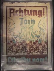 Promo Poster - Join Cthulhu Now!