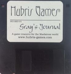 "Gray's Journal - 3.5"" Disk"
