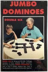 Jumbo Dominoes - Double Six