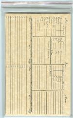 Character Record Pad