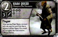 Khan Queso Promo Card