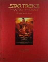 Star Trek II - The Wrath of Khan, Original Movie Script