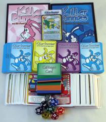 Killer Bunnies Collection #1 - Blue Starter Deck + 2 Expansions