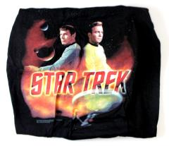 Kirk and Spock (L)