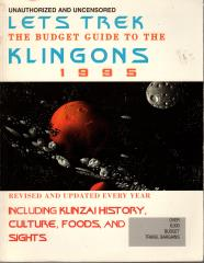 Let's Trek - The Budget Guide to the Klingons 1995