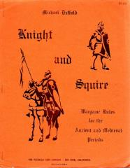 Knight and Squire - Wargame Rules for the Ancient and Medieval Periods