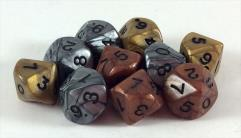 d10 Olympic Dice Assorted (10)