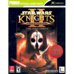Star Was - Knights of the Old Republic II, The Sith Lords - Official Strategy Guide