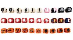 Assorted King Zombie Dice Collection (30)