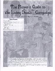 Player's Guide to the Living Death Campaign, The
