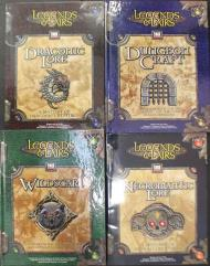 Legends and Lairs Dungeon Master's Supplement Pack - 8 Books!