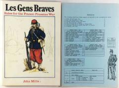 Les Gens Braves - Rules for the Franco-Prussian War (1st Edition)