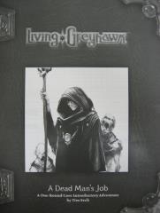 Living Greyhawk RPGA - A Dead Man's Job