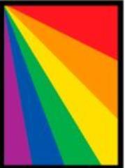 Standard CCG Size - Rainbow (50)