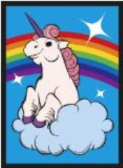 Standard CCG Size - Rainbow Unicorn (50)