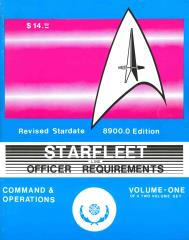 Line Officer Requirements Vol. 1