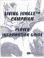 Living Jungle Campaign - Player Information Guide