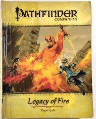 Legacy of Fire Complete Adventure Path + Player's Guide Rebound into 1 Book!