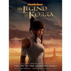 Legend of Korra, The - The Art of the Animated Series, Book One - Air