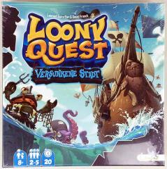 Loony Quest - Versunkene Stadt (German Edition)