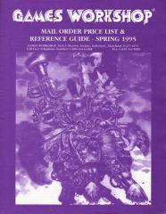 Mail Order Price List & Reference Guide Spring 1995