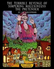 Terrible Revenge of Simpering Malexineuss the Pretender, The (AD&D 1e) (1st Printing)