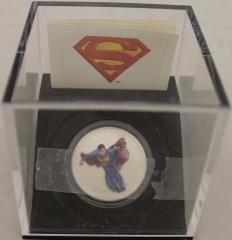 Superman 75th Anniversary Commerative Coin - Man of Steel