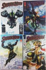 Shark-Man - Complete Series, 4 Issues!