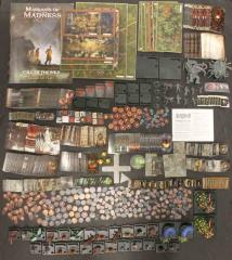 Mansions of Madness 1st Edition Collection #3 - Base Game + 2 Expansions & Painted Figures!