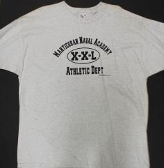 Manticoran Naval Academy T-Shirt (XXL)