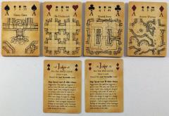 Map & Dice Playing Cards