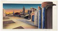 House Marik Interior Art #7 - Cityscape