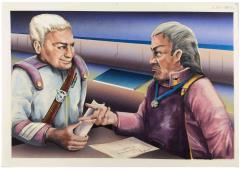 House Marik Interior Art #2 - Negotiations