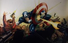Captain America Marvel Online Print