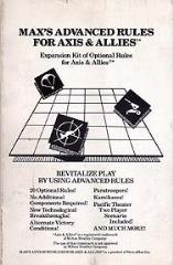 Max's Advanced Rules for Axis & Allies