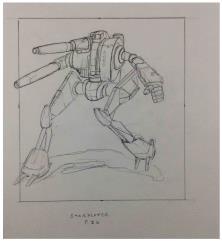 McCarron's Armored Cavalry - Interior Concept Art, Starslayer