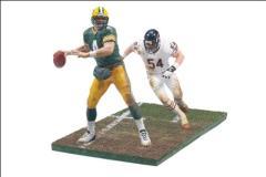 NFL 2-Pack Series - Favre vs. Urlacher