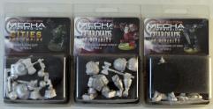 Mecha Compendium Miniatures Limited Edition - Complete Set!