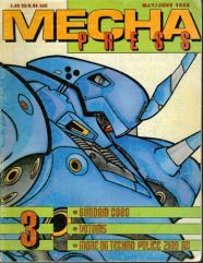 "#3 ""Gundam 0080, Techno Police 2100AD, Mekton"""