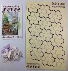 MicroGame #3 - The Fantasy Trip - Melee (1st Edition, 2nd Printing)