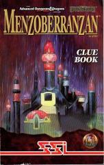 Menzoberranzan Clue Book