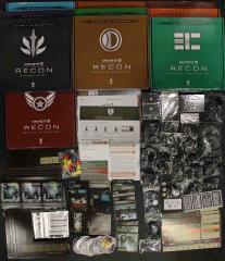 Mercs Recon Kickstarter Collection - 2 Base Games + 10 Scenario Packs!