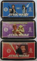 Star Wars Metallic Images Cards Collection - Series 1-3 Complete Set