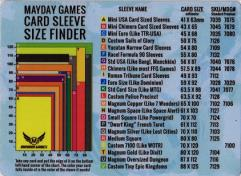 Card Sleeve Finder Mouse Pad