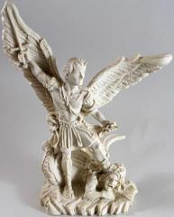 Michael Defeats Lucifer - Resin Statue