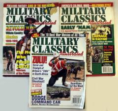 Military Classics Illustrated Collection - 3 Issues!