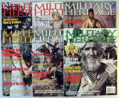 Military Heritage Magazine Collection - 6 Issues!